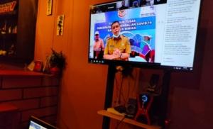 Reynold Ubra dalam video conference dengan wartawan, Senin (6/4/2020).