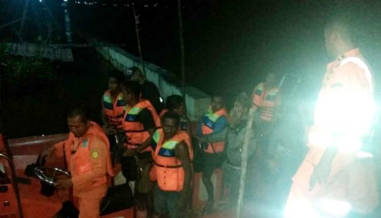 Pos SAR Asmat Selamatkan Awak KM Bintang Sembilan